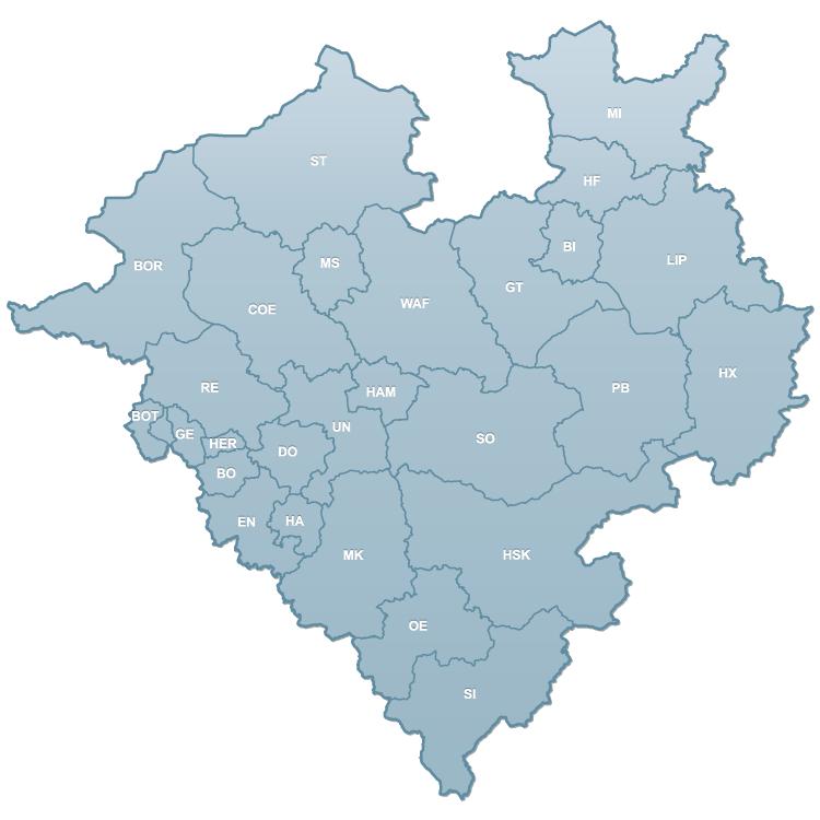 Westfalenkarte