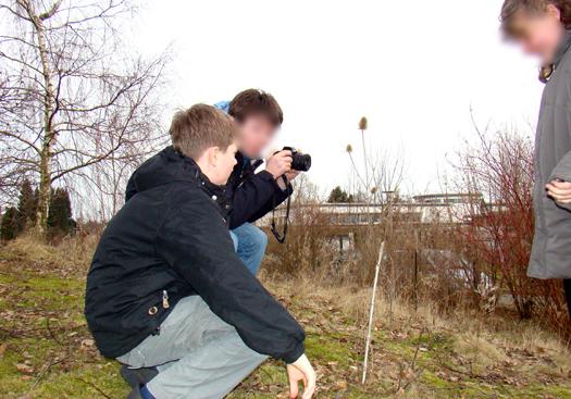 Schüler der Foto-AG (Foto: Foto-AG)