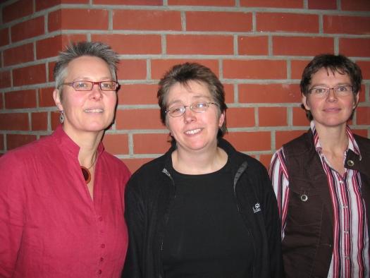 Frau Steinhaus, Frau Hinrichs, Frau Fessel