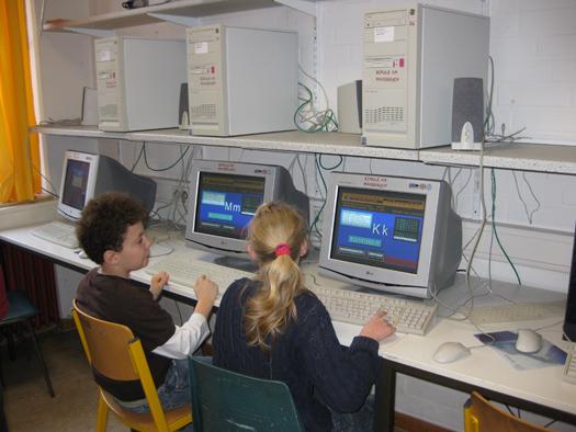 Schüler arbeiten mit der Budenberg Lernsoftware