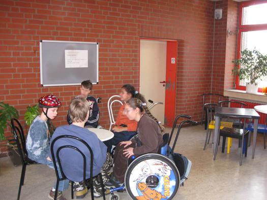 Das Schülercafé der Schule am Marsbruch