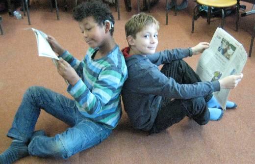Zeitungsprojekt Klasse 2/3g Dezember 2012