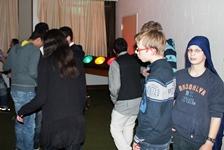 Foto von Adrian und Jan in der Schülerdisco