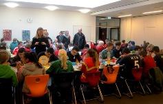 Foto vom Mittagessen im OGS-Gebäude