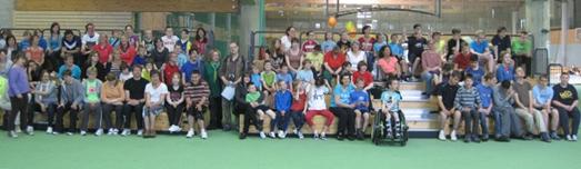Die Schülerinnen und Schüler der Pauline-Schule im Ahorn-Sportpark