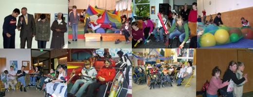8 BilderMiniaturen von verschiedenen festen