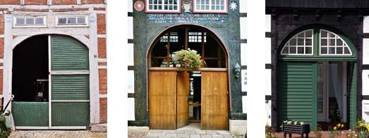 Toröffnungen in Fachwerkbauten: ursprüngliches Holztor
