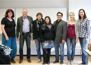 Studentengruppe der Hoogeschool
