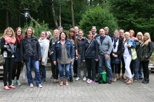 Teilnehmer und Teilnehmerinnen der Fortbildung.