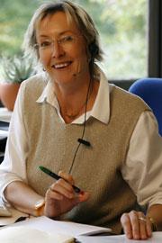 Porträt von Christiane von Minckwitz vom Aufnahmebüro
