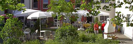 Garten im Wohnheim in Geseke