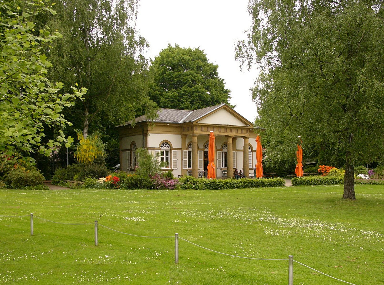 Lwl august 2013 denkmalpflege landschafts und baukultur in westfalen - Gartenhaus bielefeld ...