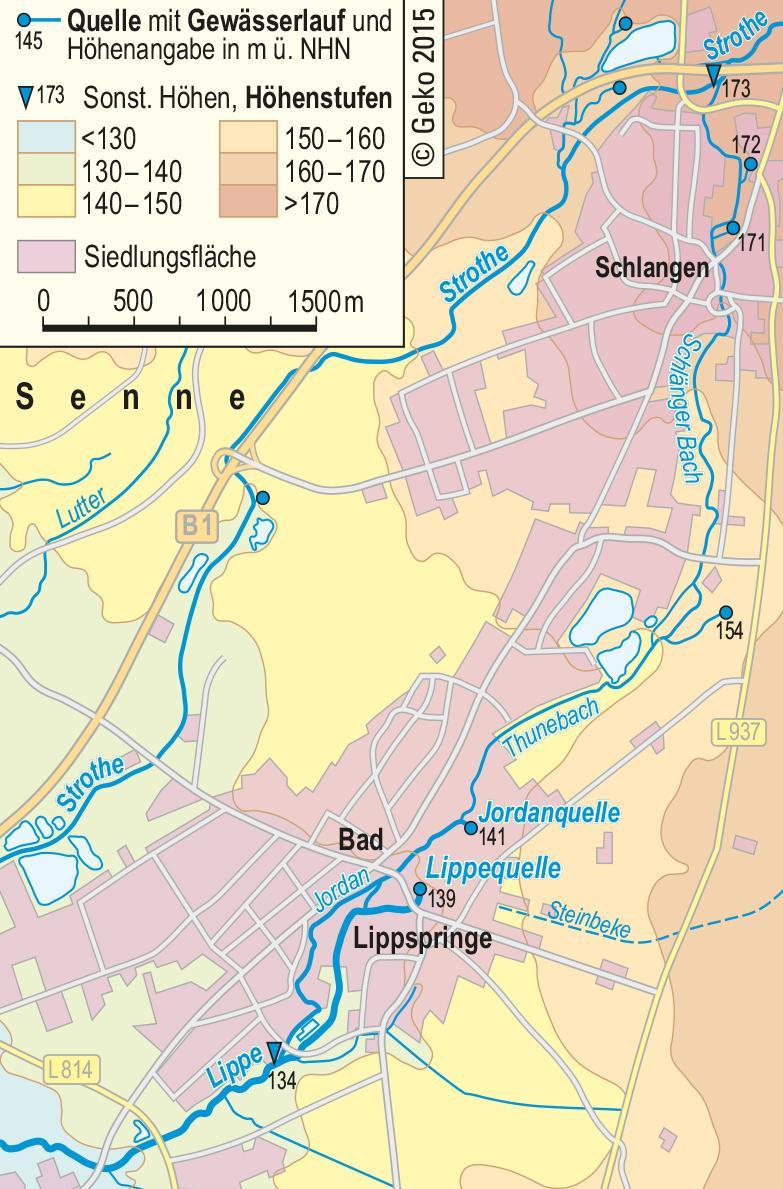Lwl Die Lippe Und Ihr Gewassereinzugsgebiet Westfalen Regional