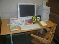 Computer mit Hilfsmitteln