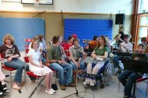 Schülerband und Chor