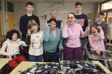 Das Foto zeigt eine Gruppe Klasse 10
