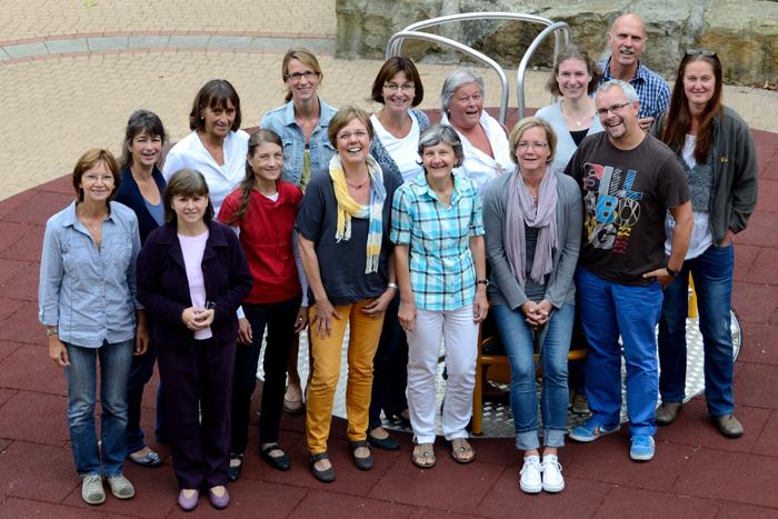 Die Ergo- und Physiotherapeuten der Christy-Brown-Schule im Schuljahr 2010/2011