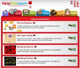 Helpkidzlearn - kostenlose Spieleseite