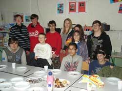 Schüler der CBS in Arras