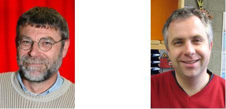 Sonderschulrektor Klaus Beyer-Dannert und Sonderschulkonrektor Stephan Schüppen