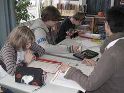 Deutsch-Unterricht in der Abschlussstufe