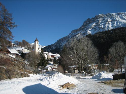 Eine schöne Winterlandschaft in Schöneben am Reschenpass!