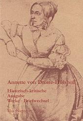 Historisch-kritische Droste-Ausgabe. Verlags-Flyer.