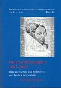 Droste-Bibliographie 1981-2003.