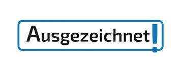 Ausgezeichnet!-Logo