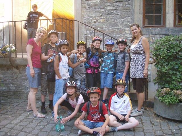 Ein Gruppenfoto von der Klasse