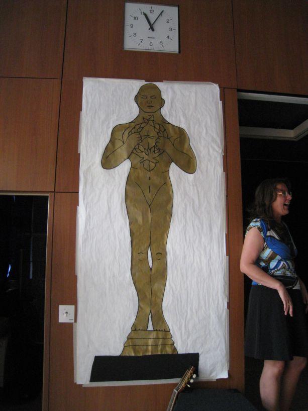 """Thema der diesjährigen Abschlussfeier ist die """"Oscarverleihung""""."""