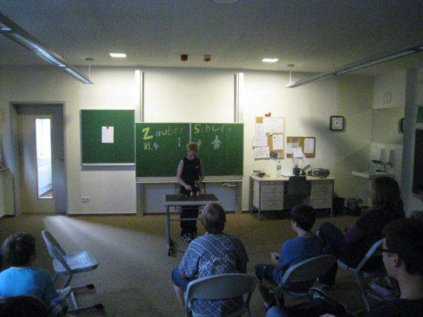 In der Zauberschule gab es viele offene Fragen und staunende Gesichter.
