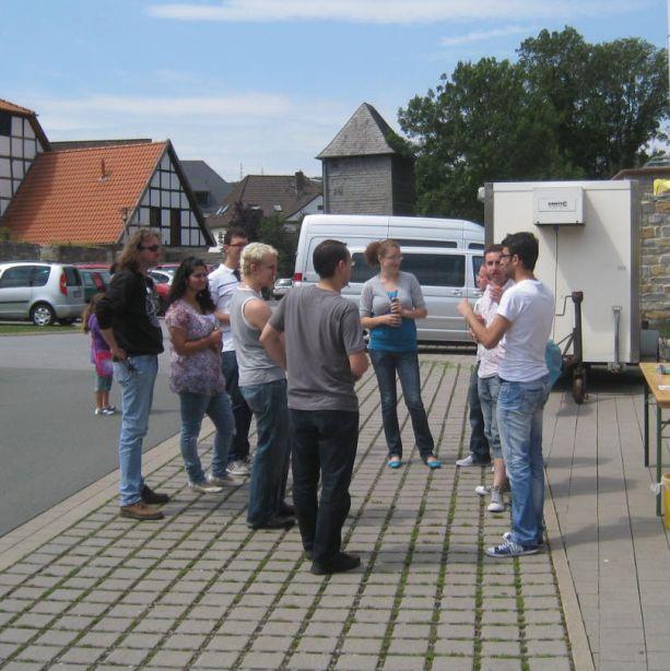 Viele ehemalige Schüler nutzten das Sommerfest zu einem Wiedersehen.