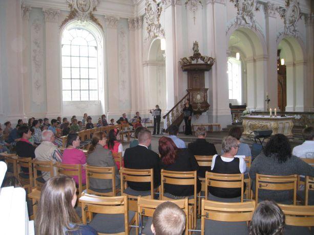 Den ökumenischen Gottesdienst haben die Schüler selbst geplant und gestaltet.