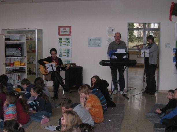Natürlich bildeten Lieder und Gesänge das Gerüst der Veranstaltungen.