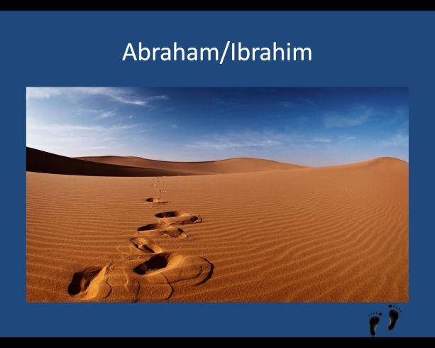 Die Wege von Abraham bzw. Ibrahim stehen im Mittelpunkt der multireligiösen Feier.