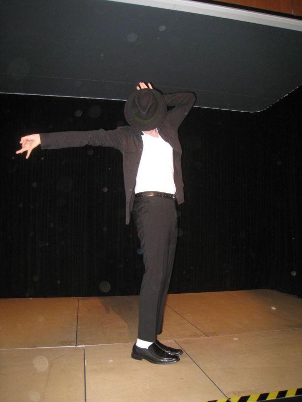 Die große Überraschung ein der Gastauftritt von Michael Jackson.