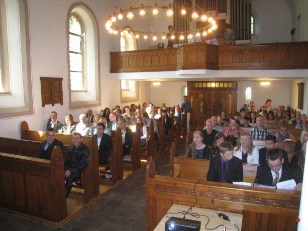 Der Abschlusstag beginnt mit einem gemeinsamen Gottesdienst.