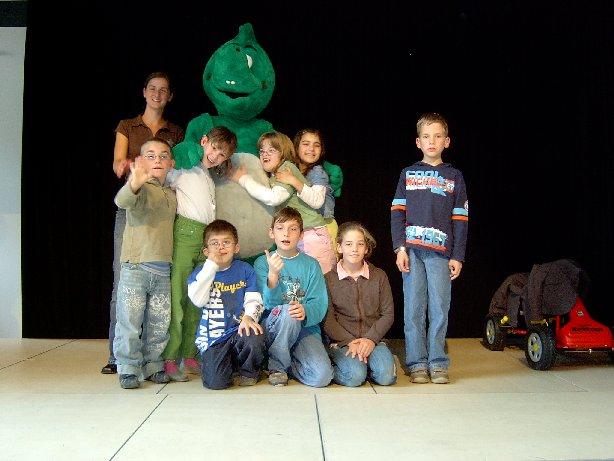 Auch die Kinder der Klasse 2 finden Meike zum soooo gut.