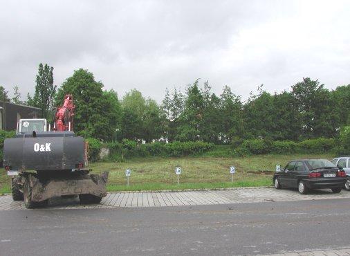 Baubeginn am 6. Juni 2005