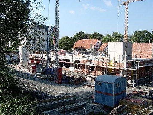 Blick von der Lindenstraße aus