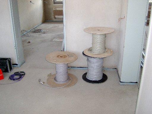 Dies Kabelrollen sind schon fast verbraucht.