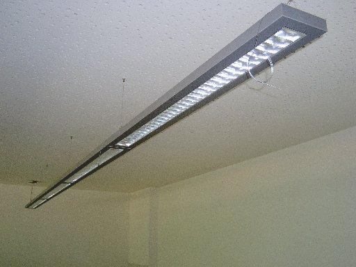Spezielle Lampen sorgen für angenehmes und nicht blendendes Licht.