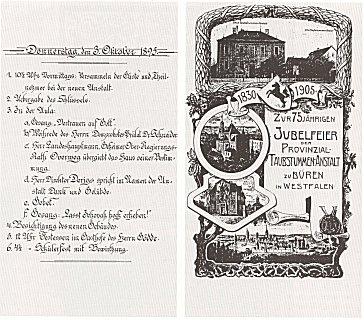 Programm zur 75-Jahr-Feier