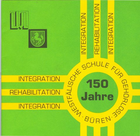Heft zur 150-Jahr-Feier