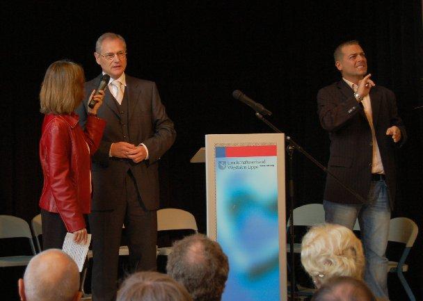 Der Landesdirektor, Herr Dr. Kirsch, begrüßt die Gäste.