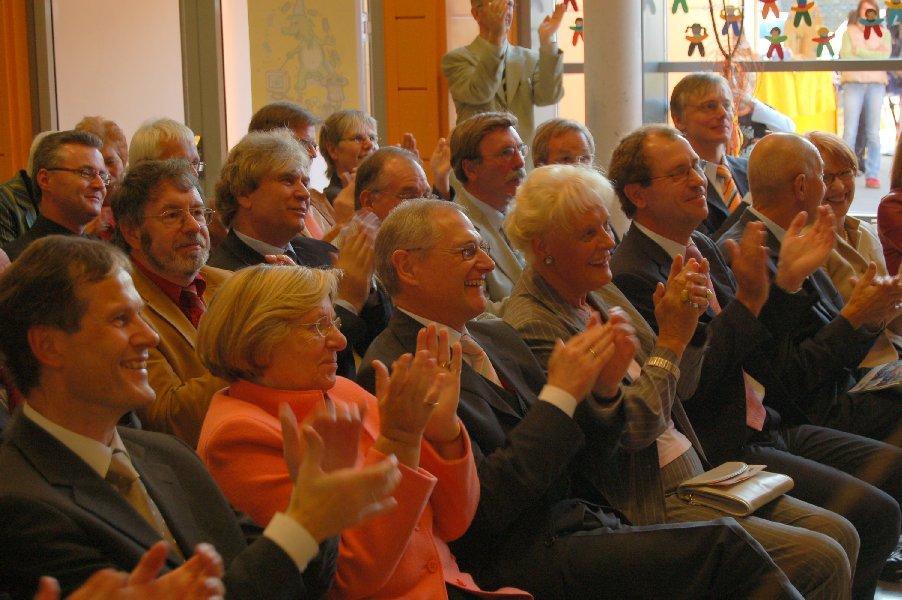 Die Gäste sind begeistert vom gesamten Programm.