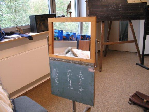 Manch einer erinnerte sich an harte Unterrichtsstunden vor dem Artikulationsspiegel.