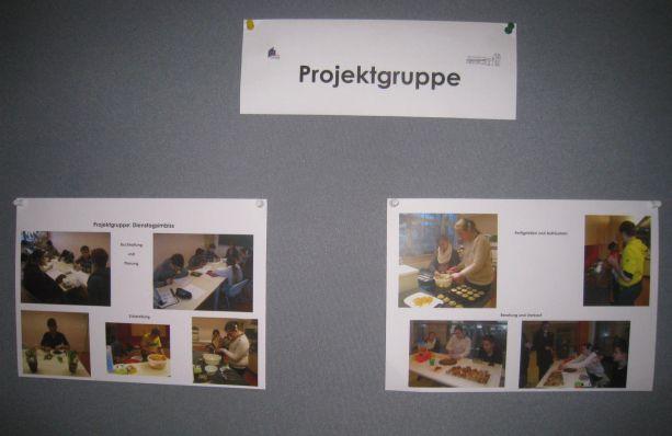 Bausteine des Konzeptes sind zum Beispiel: Projektgruppenarbeit