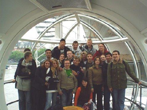 inside London Eye